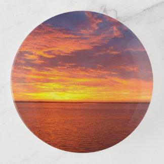 Blazing Sunset Trinket Trays