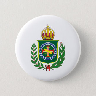 Blazon Empire of Brazil 2 Inch Round Button