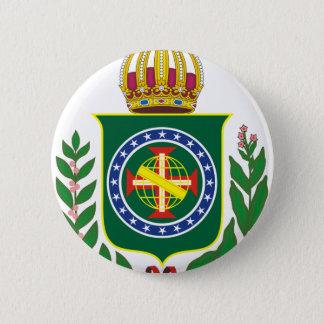 Blazon Empire of Brazil 2 Inch Round Button