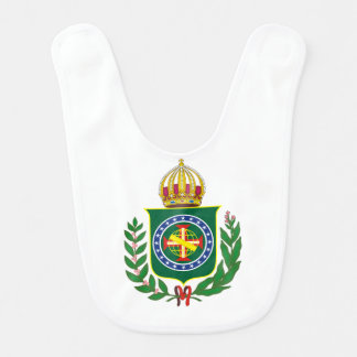 Blazon Empire of Brazil Bib