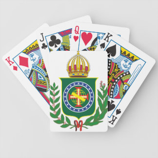 Blazon Empire of Brazil Bicycle Playing Cards
