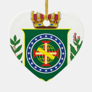 Blazon Empire of Brazil Ceramic Ornament