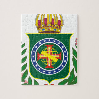 Blazon Empire of Brazil Jigsaw Puzzle