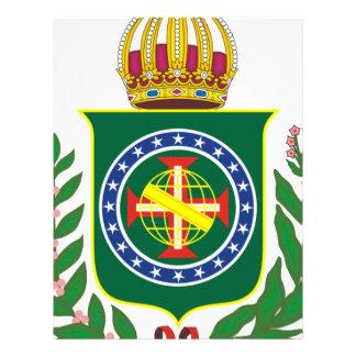 Blazon Empire of Brazil Letterhead