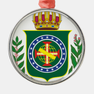 Blazon Empire of Brazil Metal Ornament