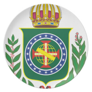 Blazon Empire of Brazil Plate
