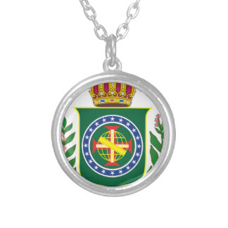 Blazon Empire of Brazil Silver Plated Necklace