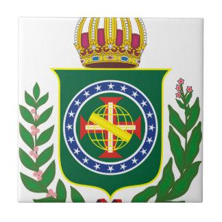 Blazon Empire of Brazil Tile
