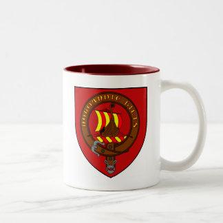 Blazon Normandy Kilts Two-Tone Coffee Mug