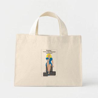 BLBagWoman Mini Tote Bag