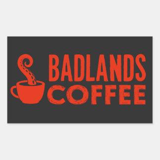 BLC Logo & Text Sticker, black, landscape Sticker