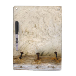 Bleached Rustic Old Wood Rusty Photo Dry Erase Board