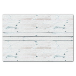 Bleached Wood Planks Texture Tissue Paper