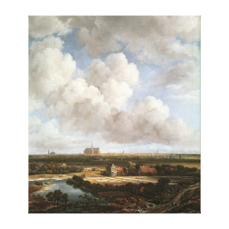 Bleaching Ground Canvas Print