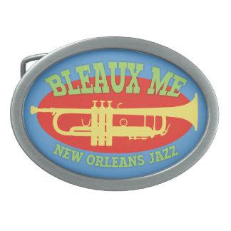 Bleaux Me - New Orleans Jazz Oval Belt Buckles