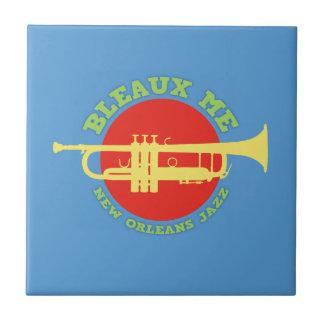 Bleaux Me - New Orleans Jazz Tile