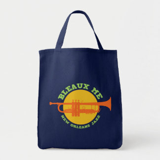 Bleaux Me - New Orleans Jazz Tote Bag