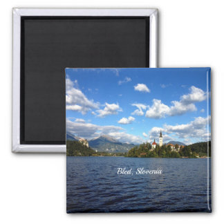Bled, Slovenia--landscape photograph Magnet