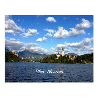 Bled, Slovenia--landscape photograph Postcard