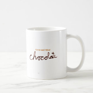 Bleed Chocolate Coffee Mug