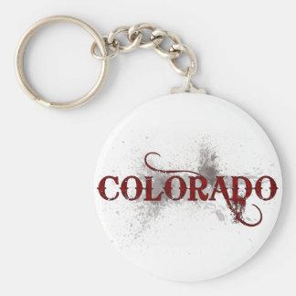 Bleeding Grunge Colorado Keychain