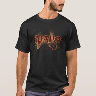 Bleeding Grunge Idaho T-Shirt
