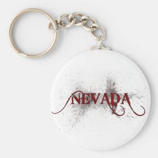Bleeding Grunge Nevada Keychain