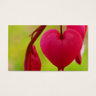 Bleeding Heart Business Cards (Landscape)
