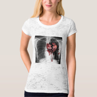 bleeding heart by Lola B... T-Shirt