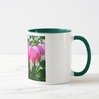 Bleeding Heart Flowers Mug