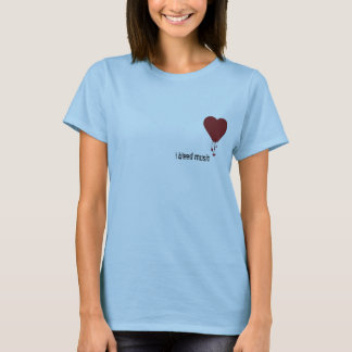Bleeding Heart, i bleed music T-Shirt