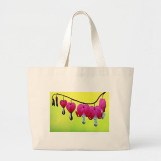 Bleeding heart large tote bag