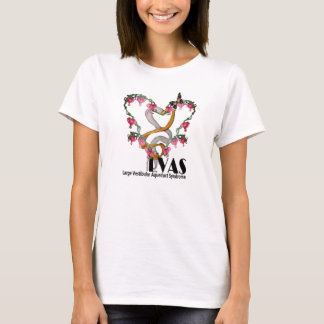 Bleeding Heart Ribbon for LVAS T-Shirt
