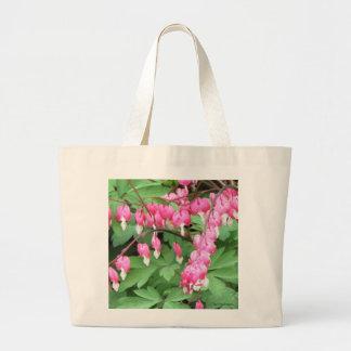 Bleeding Hearts Bouquet Bag