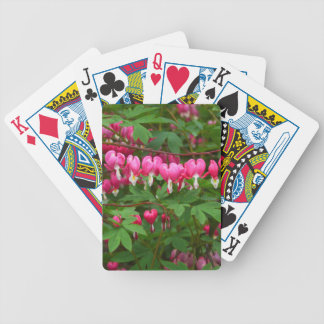 Bleeding Hearts Nature, Photo Bicycle Playing Cards