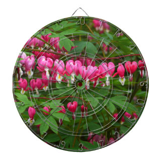Bleeding Hearts Nature, Photo Dartboard