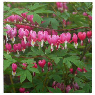 Bleeding Hearts Nature, Photo Napkin