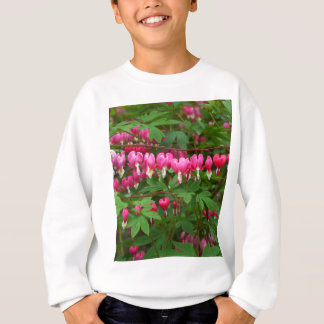 Bleeding Hearts Nature, Photo Sweatshirt