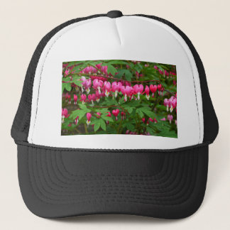 Bleeding Hearts Nature, Photo Trucker Hat