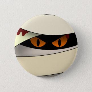 Bleeding Mummy Halloween 2 Inch Round Button