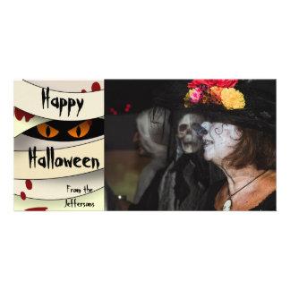 Bleeding Mummy Halloween Card