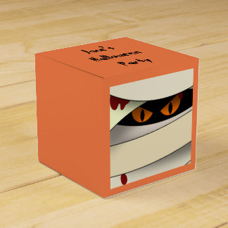 Bleeding Mummy Halloween Favor Box