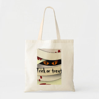 Bleeding Mummy Halloween Tote Bag