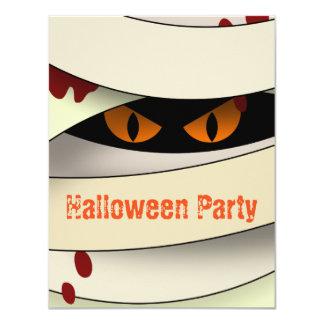 Bleeding Mummy Happy Halloween Card
