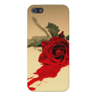 Bleeding Red Rose iPhone 5/5s Case