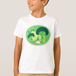 Bleh Broccoli Rejecting Cake T-Shirt