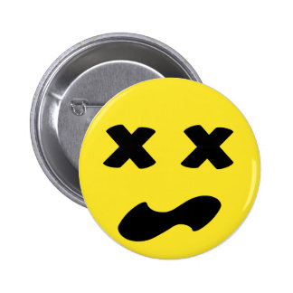 Bleh Face 2 Inch Round Button