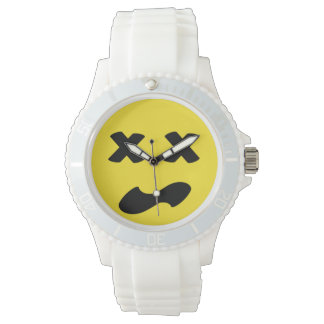 Bleh Face Wristwatch