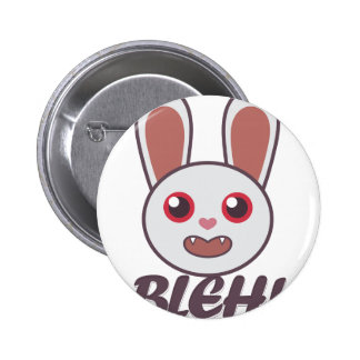 Bleh Rabbit 2 Inch Round Button