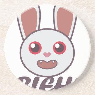 Bleh Rabbit Coasters